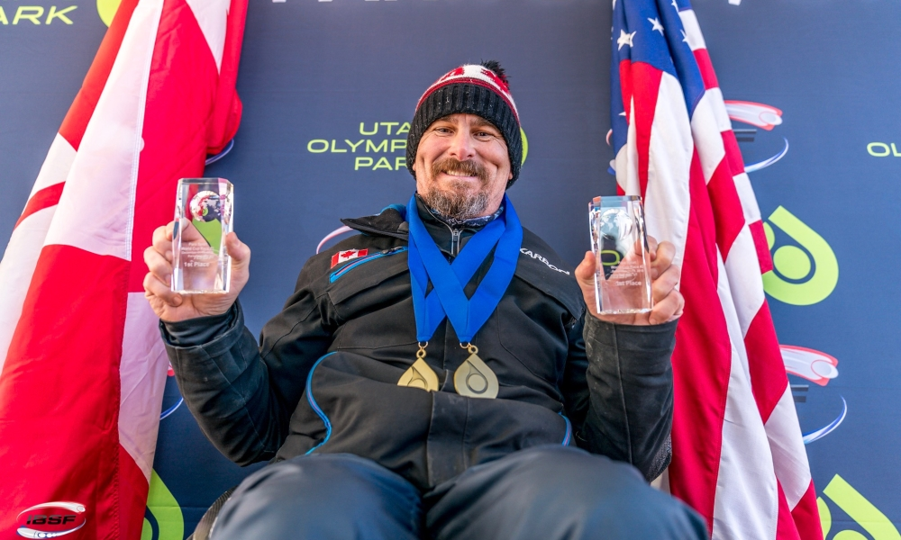 Bobsleigh pilot Lonnie Bissonnette wins first two IBSF Para Sport World Cups in Park City