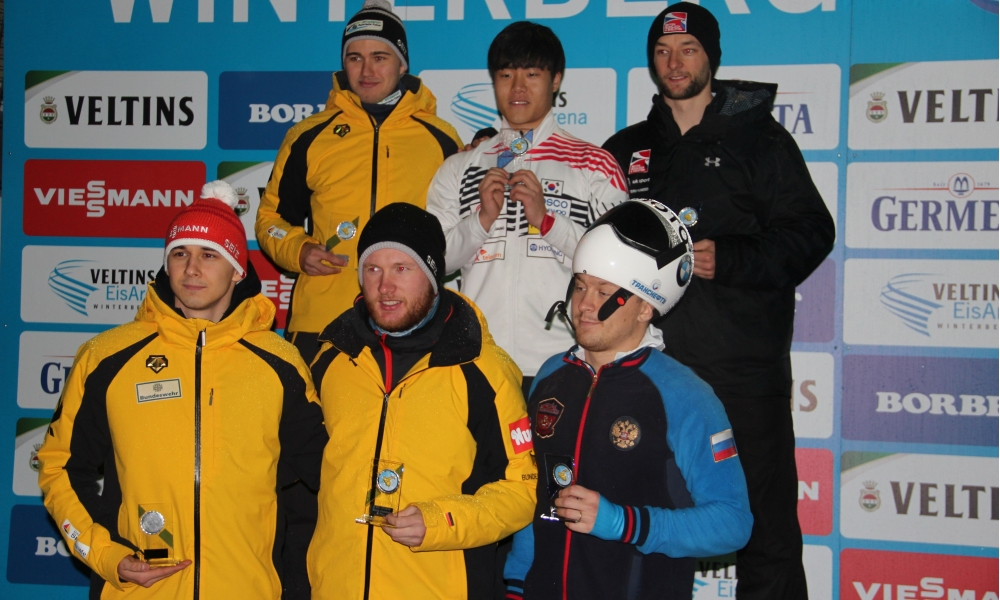 Laura Deas, Seunggi Jung and Kilian von Schleinitz win IBSF Intercontinental Cup in Winterberg