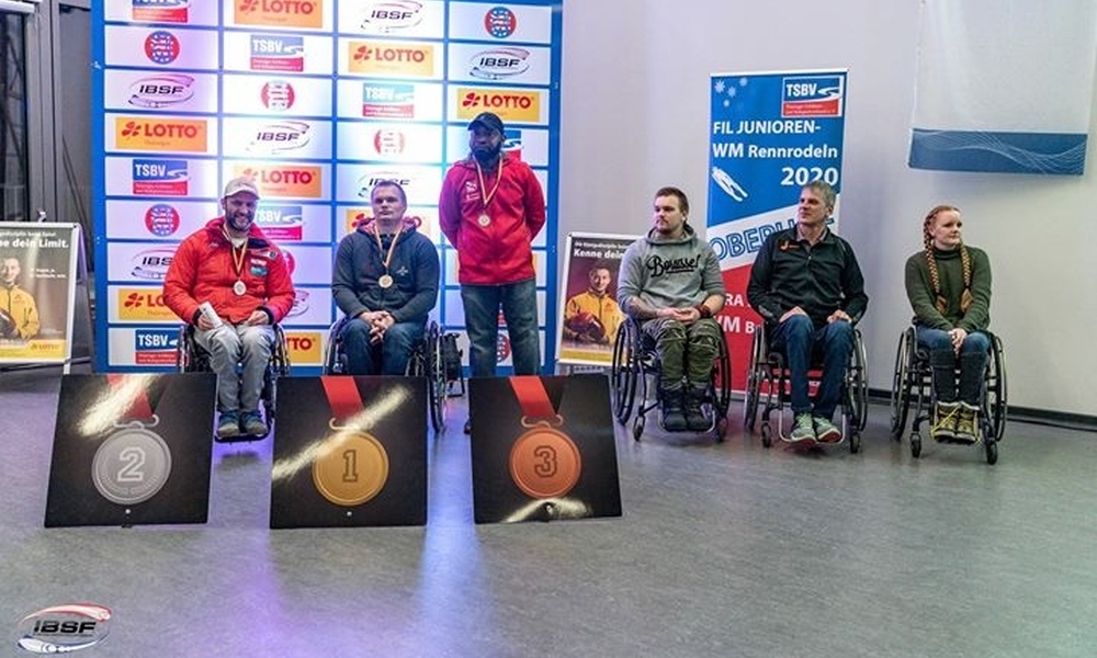 Canadian Lonnie Bissonnette defends the lead in IBSF Para Sport World Cup ahead of final stage