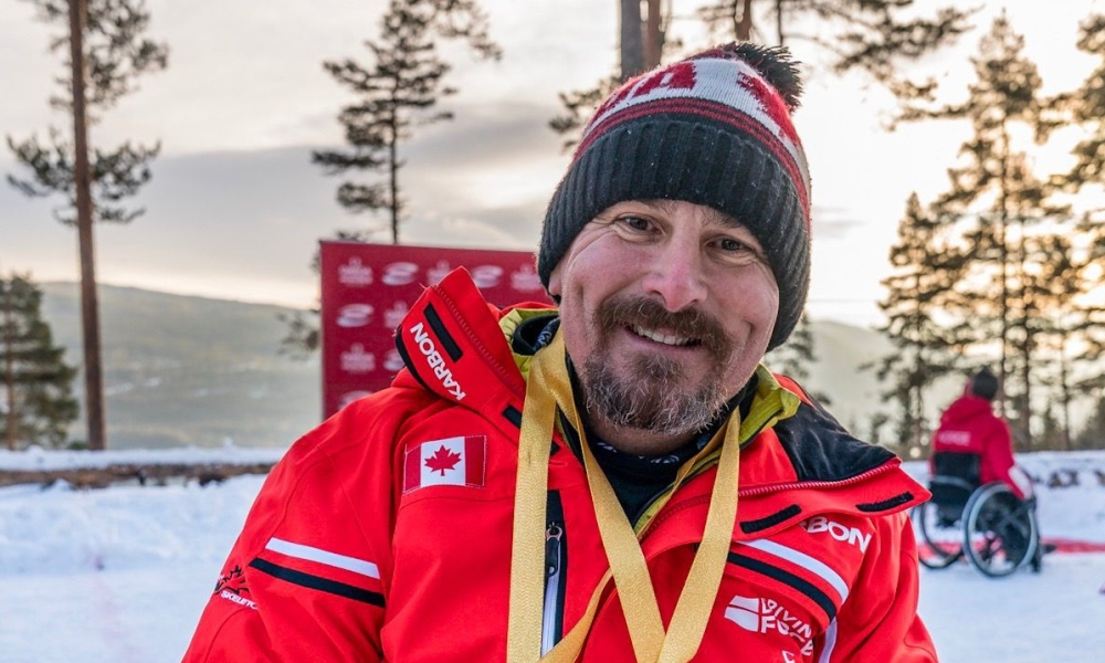 IBSF Para Sport WCup 2018 2019 overall winner Bissonnette