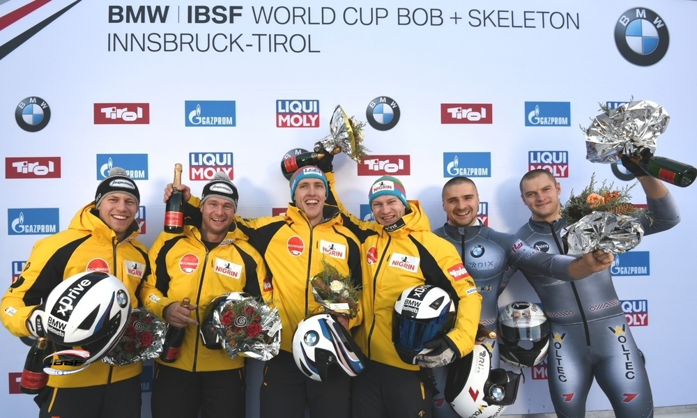2-man bobsleigh Olympic Champion Friedrich enjoys one year undefeated success