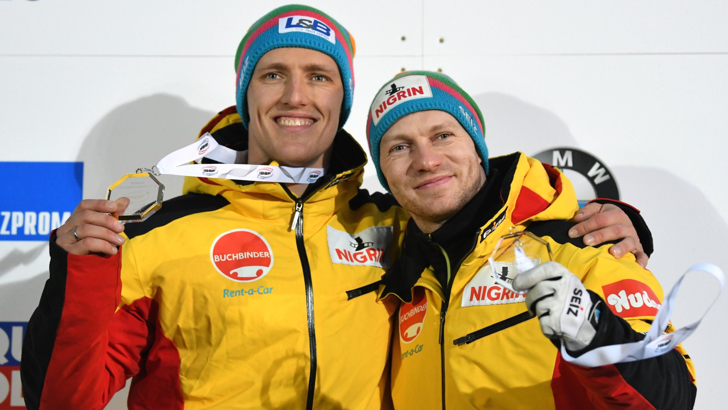 2 man Bob BMW IBSF World Championships 2020 Altenberg Friedrich medals