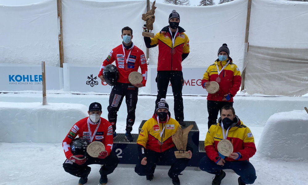 Junior World Champions gold for Nolte in 2-woman and Hannighofer in 2-man bobsleigh