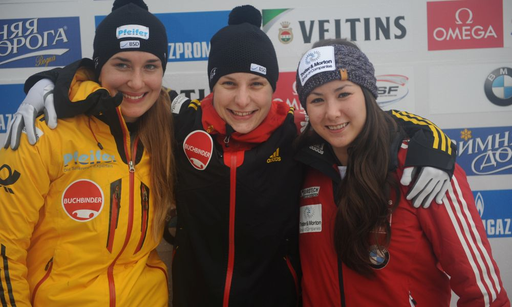 BMW IBSF World Cup Winterberg, Skeleton Women, Photo: Charlie Booker