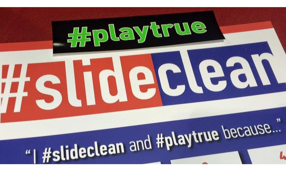 #slideclean and #playtrue