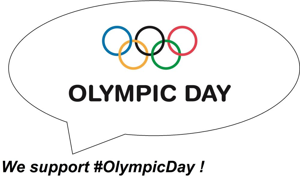 Olympic Day support logo
