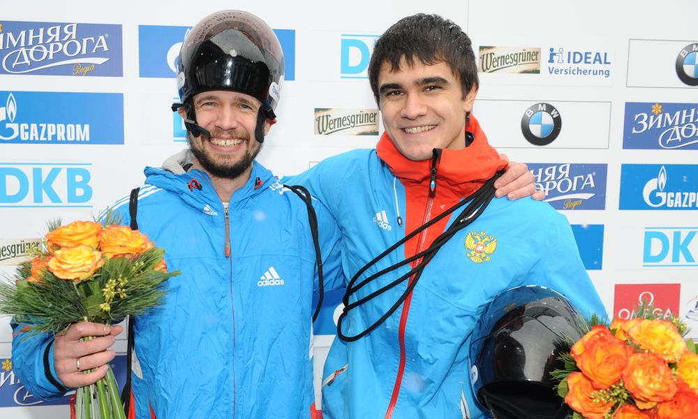 Alexander Tretiakov, left, and Nikita Tregybov (both RUS), Photos: Charlie Booker