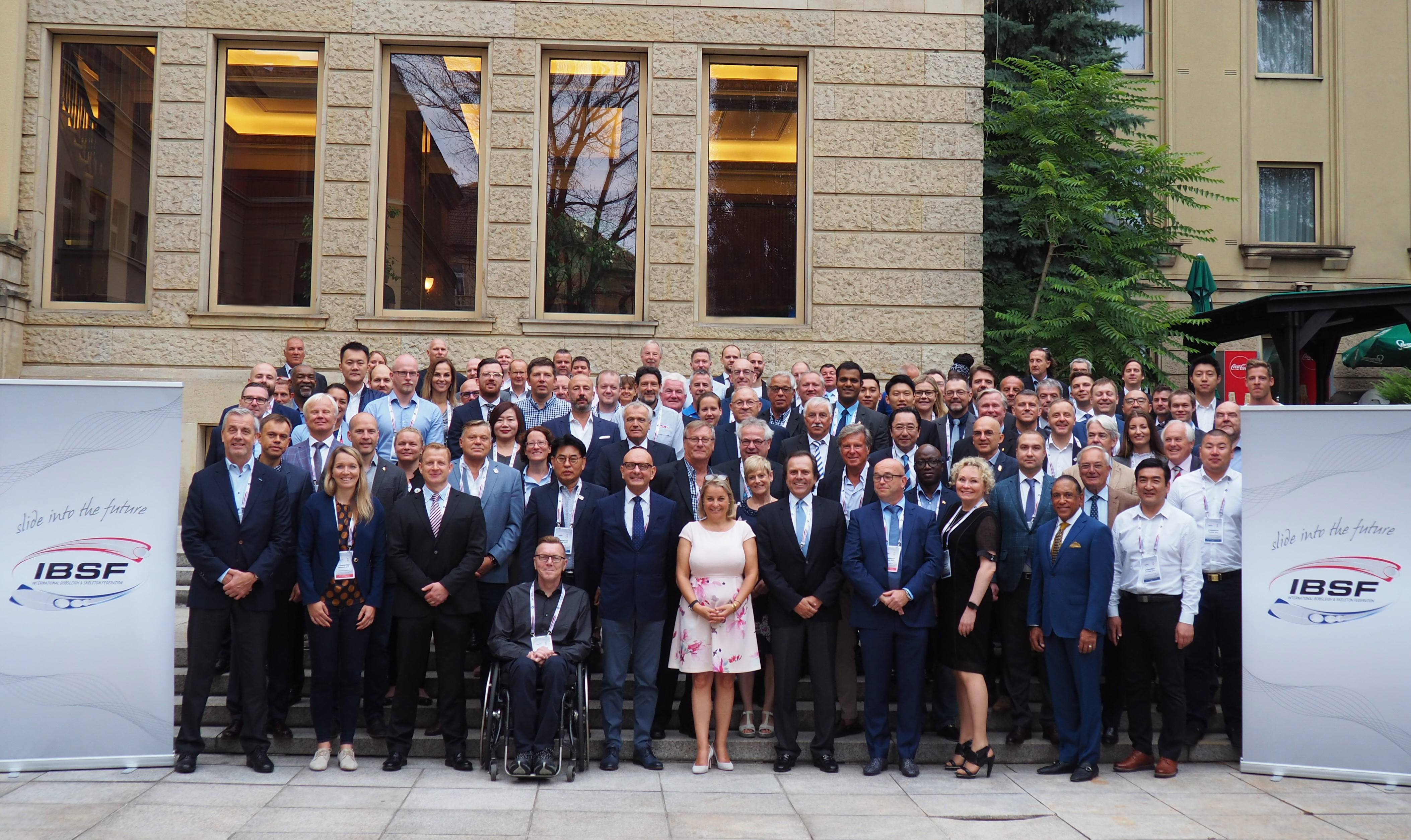 IBSF Congress 2019 in Prague discussing challenges and chances for sliding sports