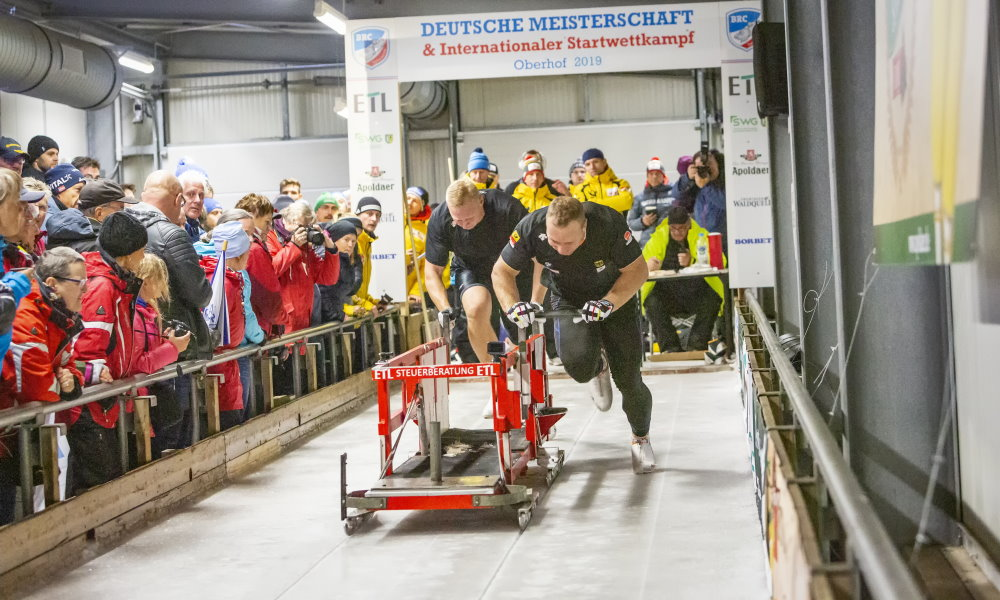 German Push Championships and International Start Competition in Oberhof