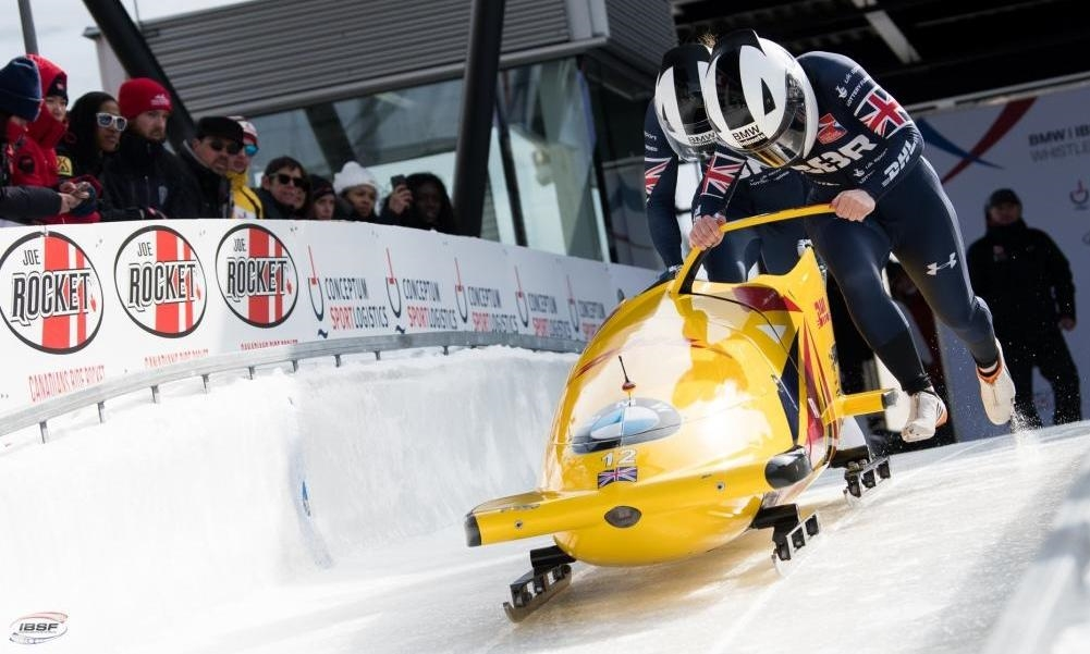 Bobsleigh At The 2020 Olympic Winter Games.Bobsleigh