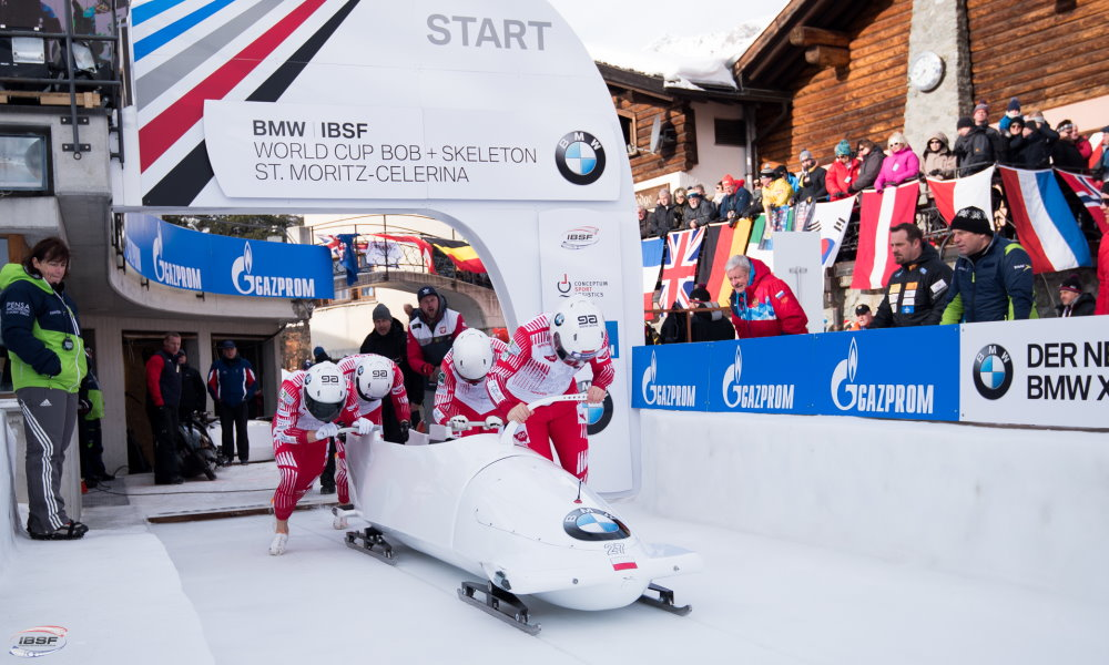 Bobsleigh recruiting in Poland on October 12