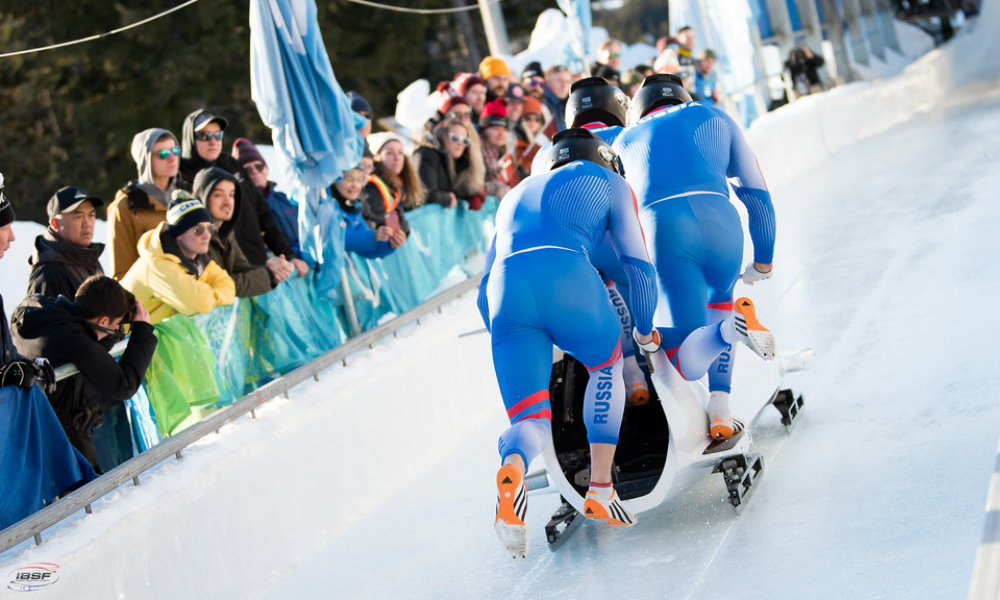 4-man Bobsleigh, RUS