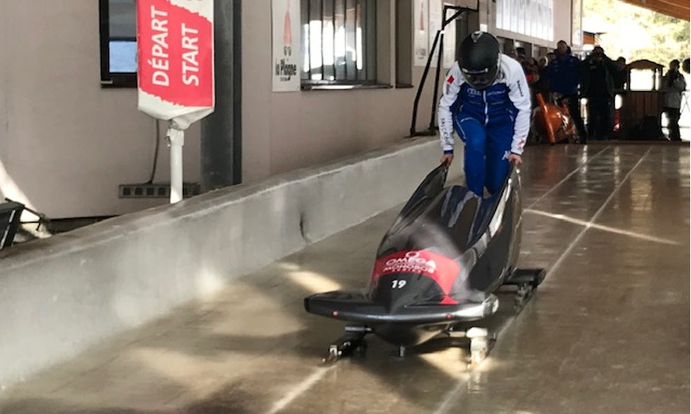 IBSF Women's Monobob and Youth Training Camp in La Plagne