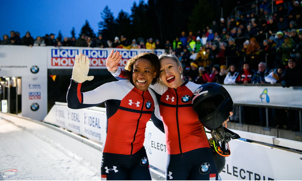 World Champion Lauren Gibbs shares bobsleigh experiences with fans