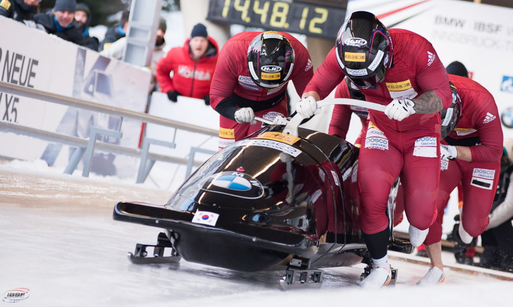 Latvia and Korea are looking for new bobsleigh and skeleton talents