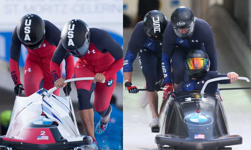 Photos: IBSF / Viesturs Lacis and Getty Images / Alexander Hassenstein